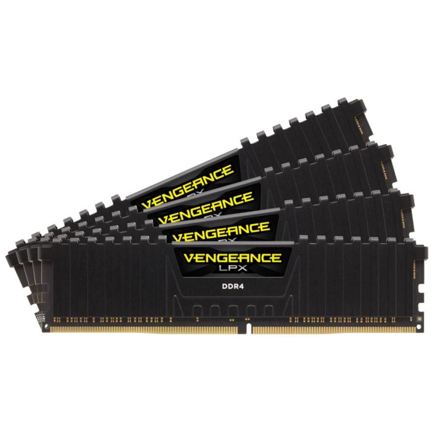 Corsair Vengeance LPX 64GB ( 4 x 16GB ) DDR4 3200Mhz Memory CMK64GX4M4E3200C16