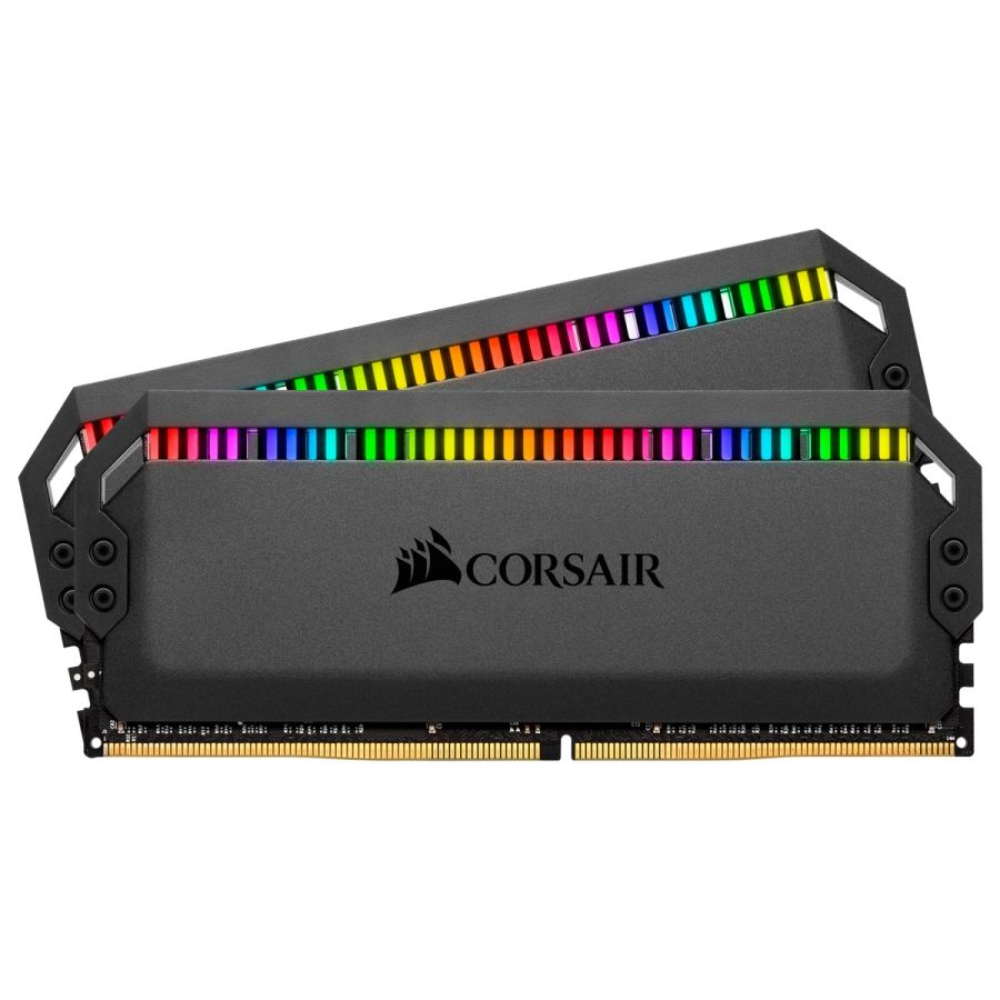 Corsair DOMINATOR PLATINUM RGB 16GB (2 x 8GB) DDR4 3200MHz Memory CMT16GX4M2Z3200C16