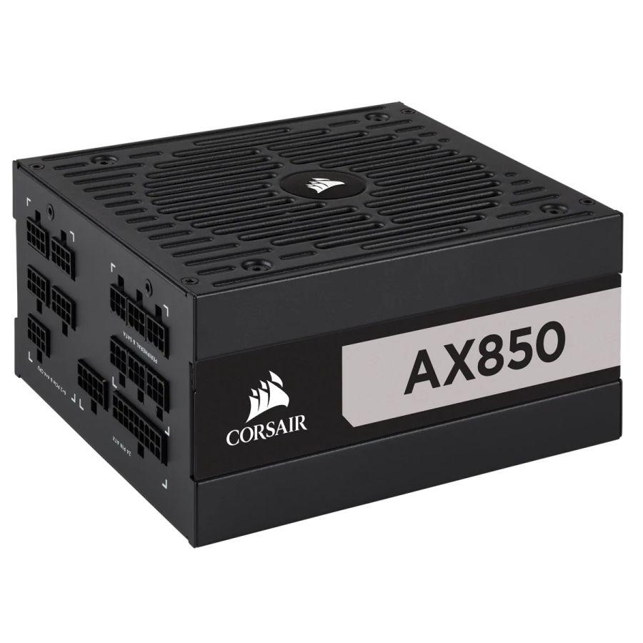 Corsair AX Series AX850 850W 80Plus Titanium Fully Modular Power Supply CP-9020151-NA