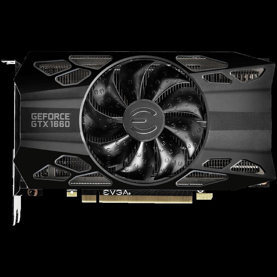 EVGA GeForce GTX 1660 6GB GDDR5 BLACK GAMING Video Card 06G-P4-1160-KR