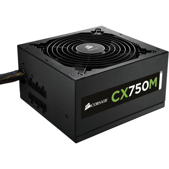 Corsair CX Series CX750M 750W 80Plus Bronze Semi Modular Power Supply CP-9020061-NA