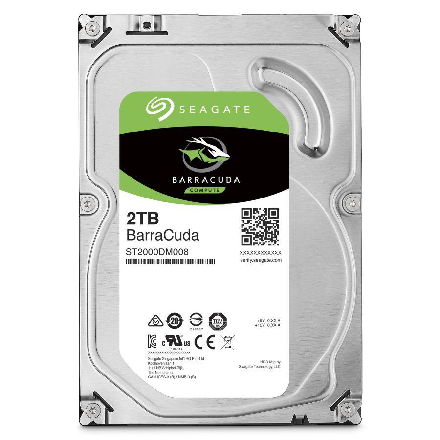"Seagate BarraCuda 2TB 3.5"" SATA 6.0Gb/s HDD ST2000DM008"