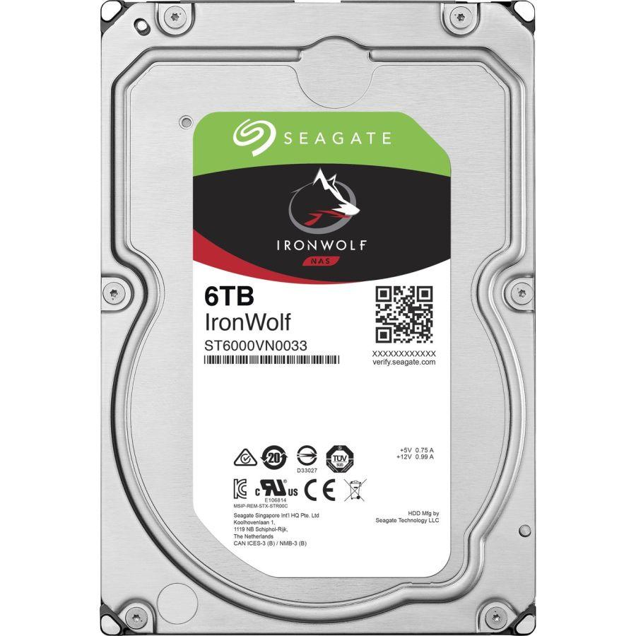 "Seagate IronWolf 6TB SATA 6.0Gb/s 3.5"" HDD ST6000VN0033"