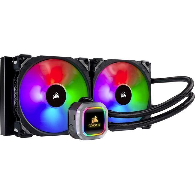 Corsair Hydro Series H115i RGB Platinum 280mm Intel/AMD Liquid CPU Cooler CW-9060038-WW