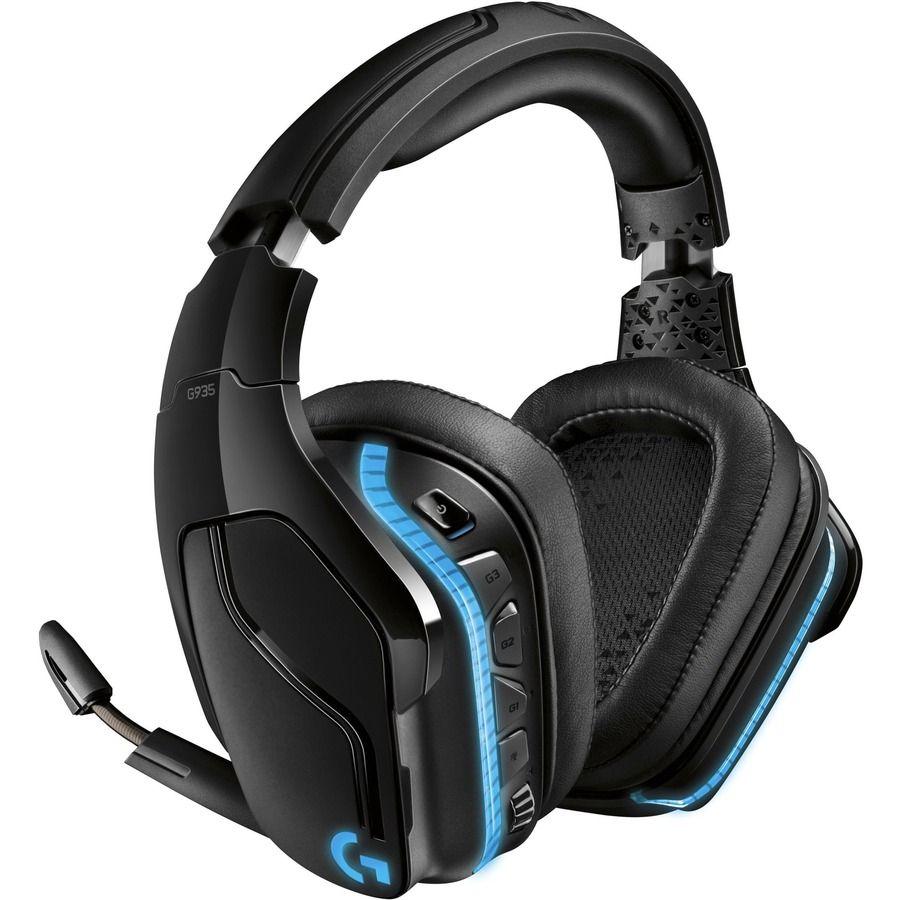 Logitech G935 Wireless 7.1 Surround Lightsync Gaming Headset 981-000742