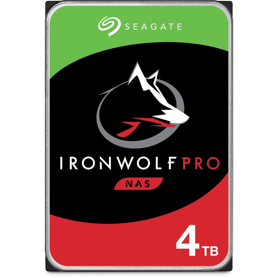 "Seagate IronWolf Pro 4TB 3.5"" SATA 6.0Gb/s HDD ST4000NE001"