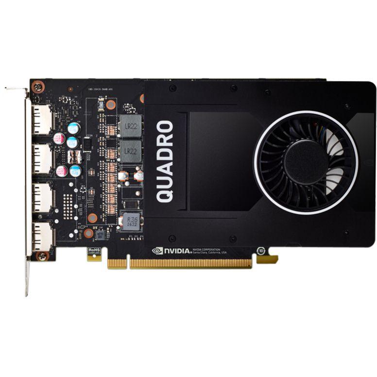 PNY NVIDIA Quadro P2200 5GB GDDR5X Video Card VCQP2200-SB