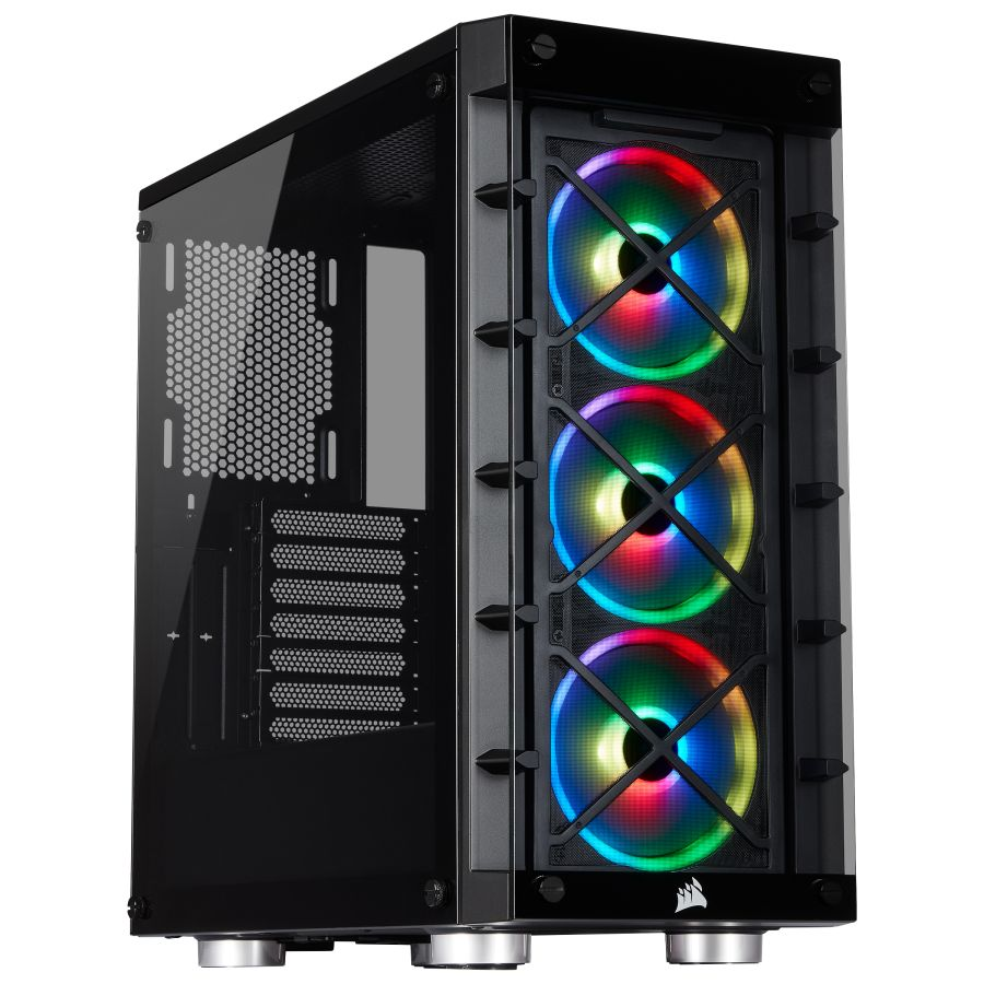 Corsair iCUE 465X RGB Black Mid Tower Case CC-9011188-WW