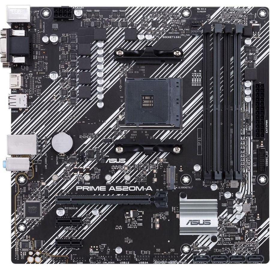 Asus PRIME A520M-A/CSM AM4 DDR4 Motherboard MATX