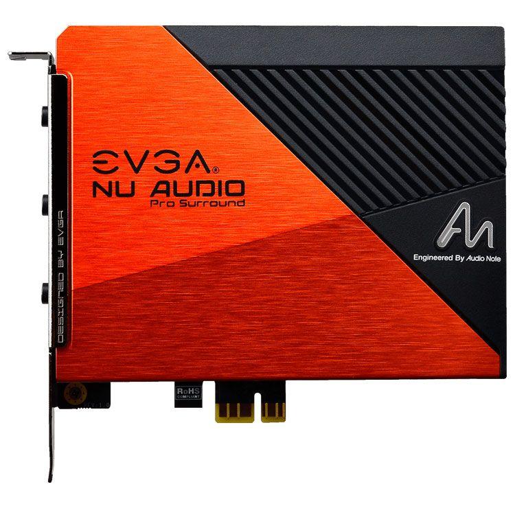 EVGA NU Audio 5.1 Surround Pro Sound Card 712-P1-AN10-KR