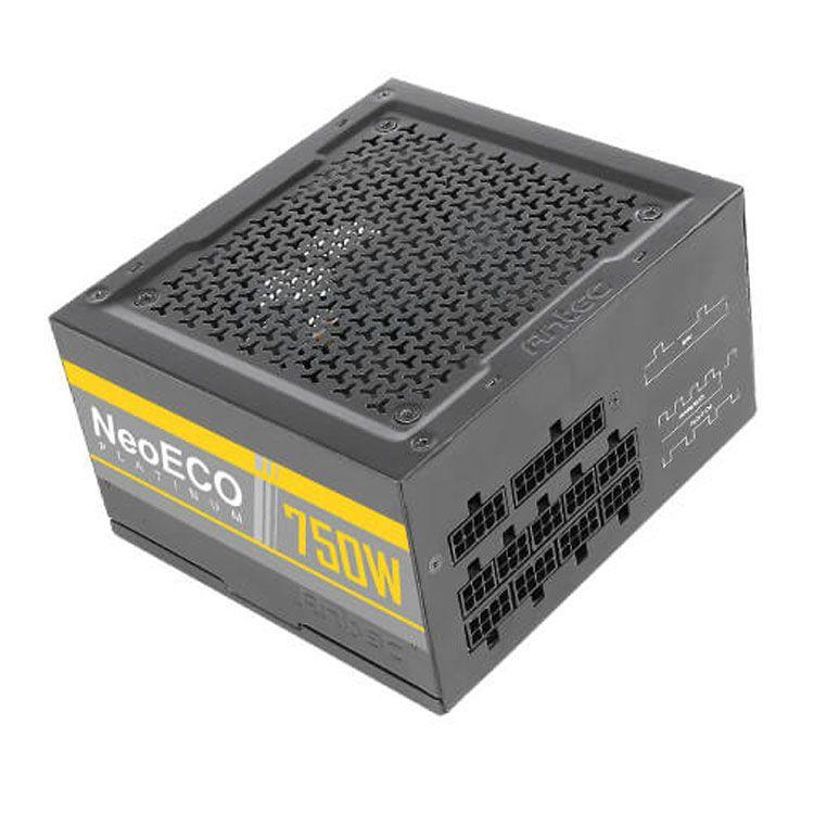 Antec NeoEco 750W 80Plus Platinum Fully Modular Power Supply NE750 PLATINUM