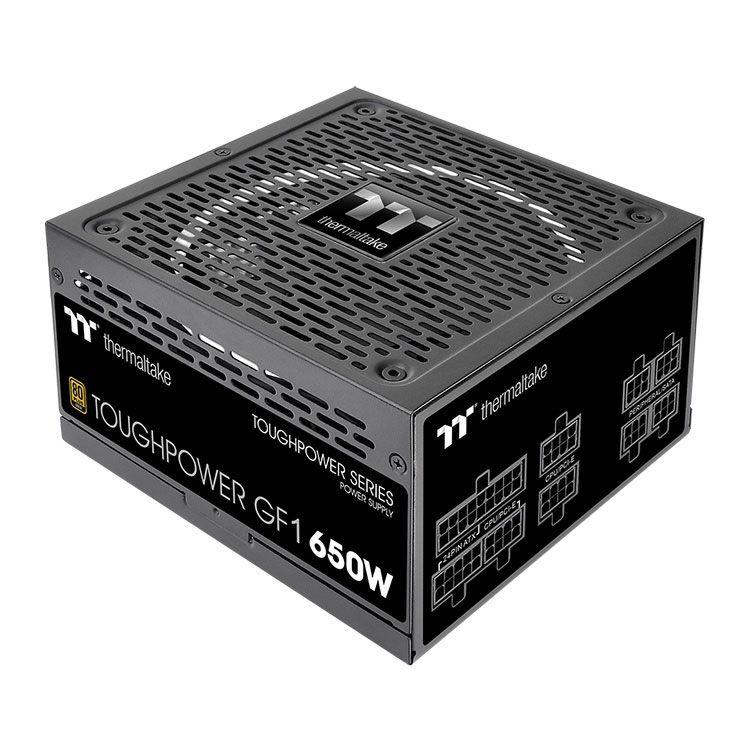 Thermaltake Toughpower GF1 650W 80Plus Gold Fully Modular Power Supply PS-TPD-0650FNFAGU-1
