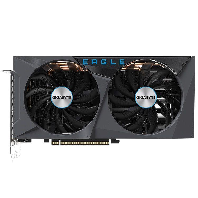 Gigabyte GeForce RTX 3060 Ti EAGLE OC 8GB GDDR6 with LHR Video Card GV-N306TEAGLE OC-8GD R2