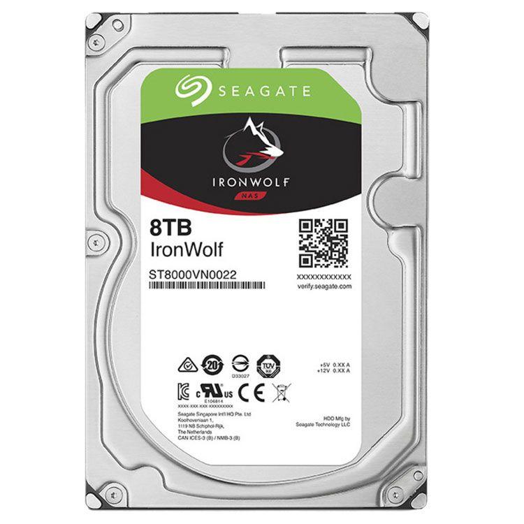 "Seagate IronWolf 8TB 3.5"" SATA 6.0Gb/s HDD ST1000VN002"