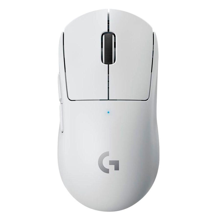 Logitech Pro X Superlight Wireless White Gaming Mouse 910-005940