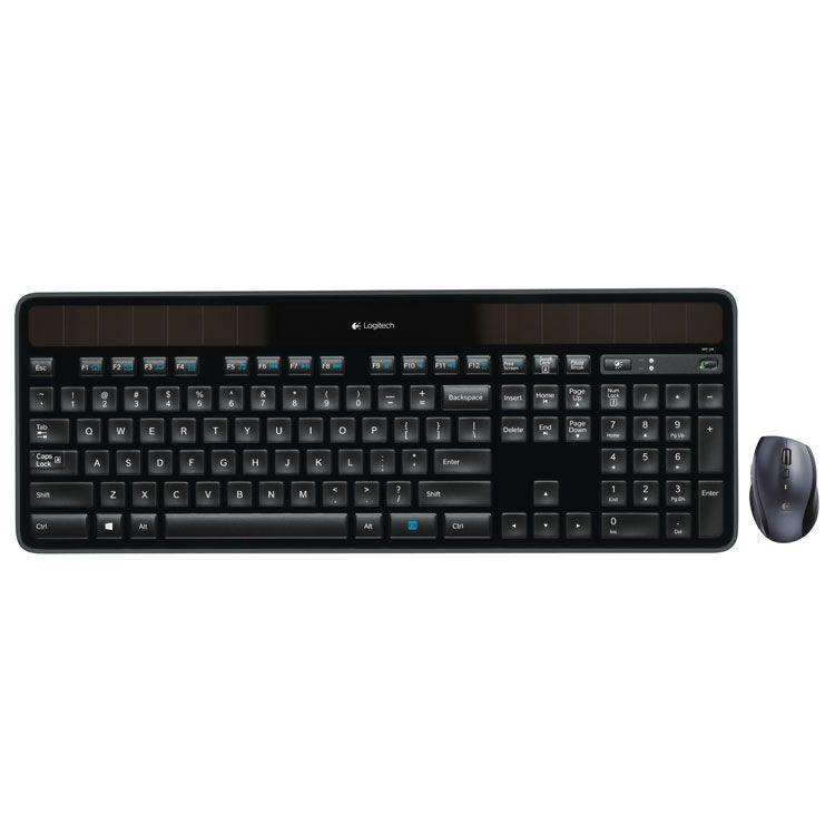 Logitech Solar Wireless Combo Mouse & Keyboard 920-005002