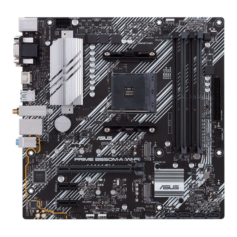 Asus PRIME B550M-A WI-FI AM4 DDR4 Motherboard MATX