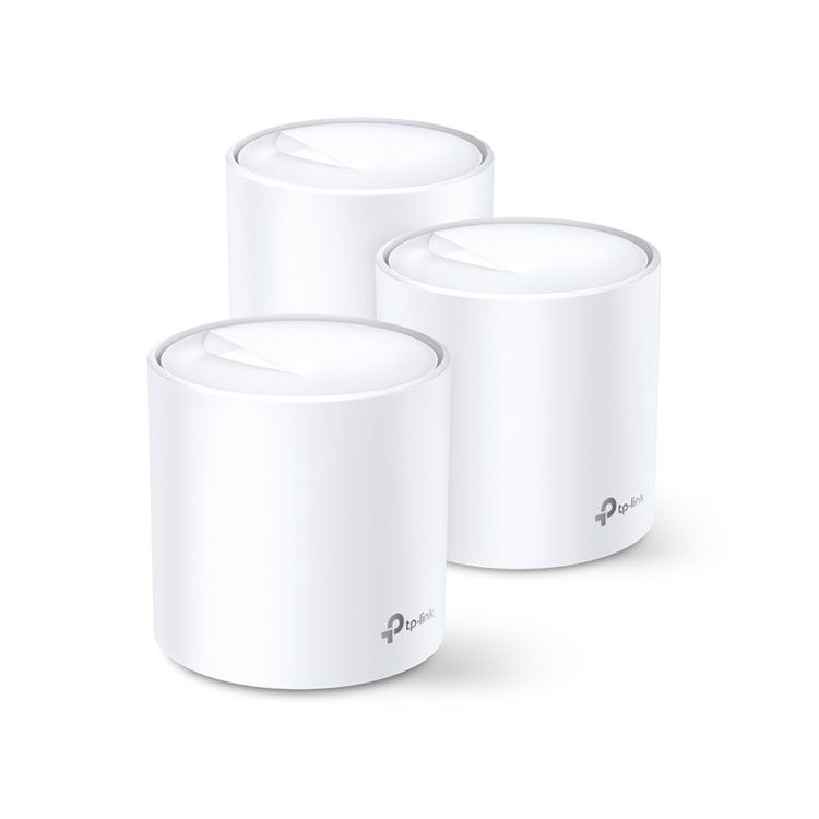 TP-Link AX3000 Whole Home Mesh Wi-Fi 6 System DECO X60(2-PACK)