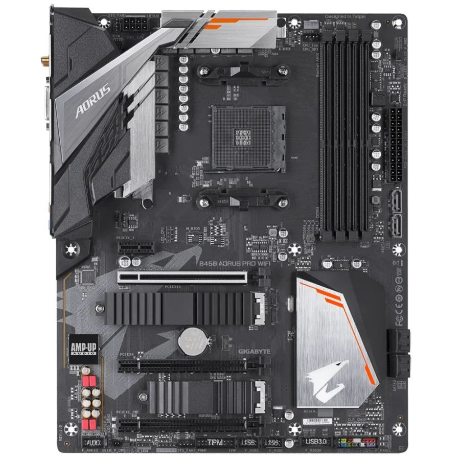 Gigabyte B450 AORUS PRO WIFI AM4 DDR4 Motherboard MATX