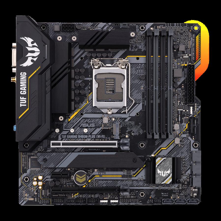 Asus TUF GAMING B460M-PLUS WIFI LGA1200 DDR4 Motherboard MATX