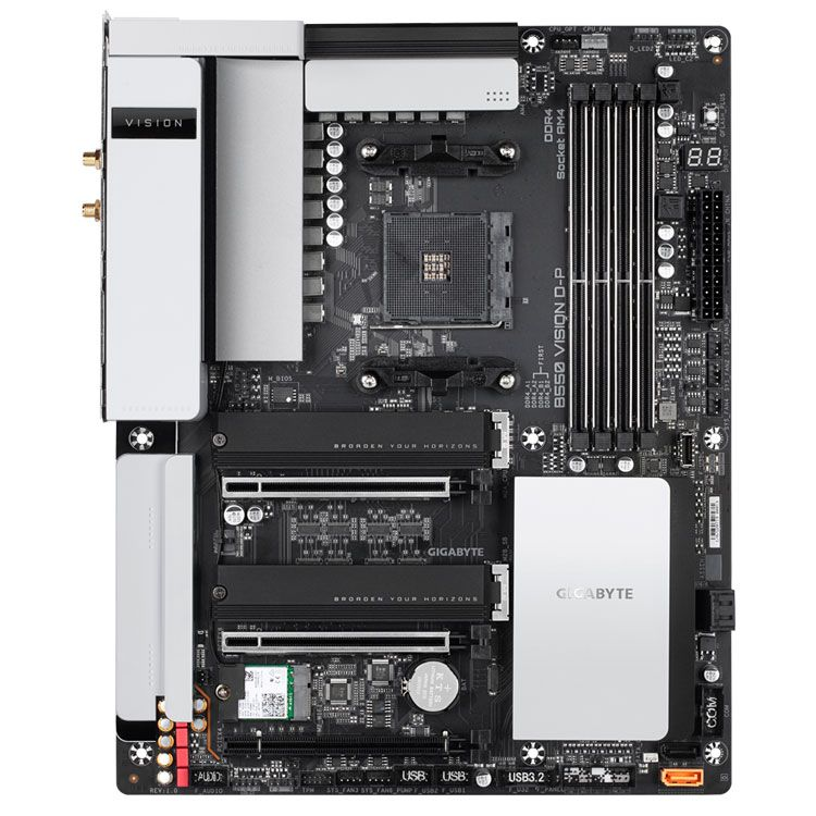 Gigabyte B550 VISION D-P AM4 DDR4 Motherboard ATX