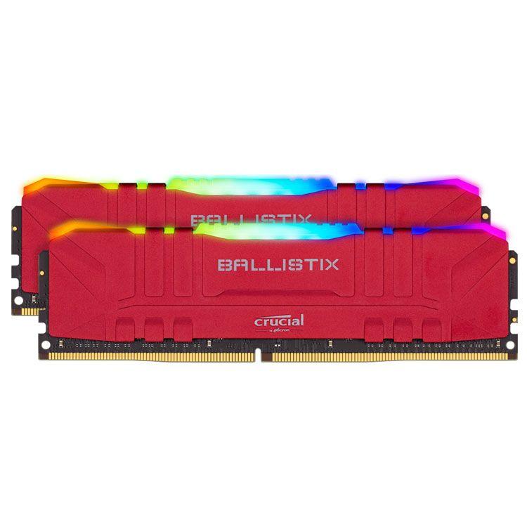 Crucial Ballistix RGB 32GB (2 x 16GB) DDR4 3200MHz Memory BL2K16G32C16U4RL