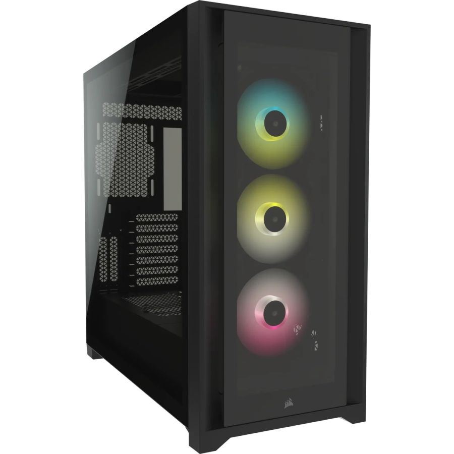Corsair iCUE 5000X RGB Tempered Glass Mid-Tower Case CC-9011212-WW