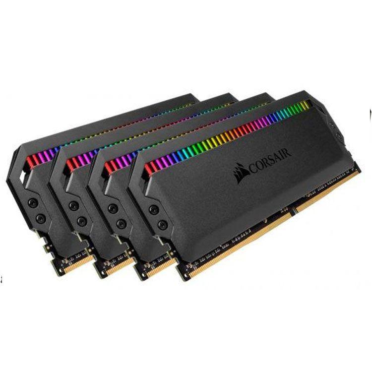 Corsair DOMINATOR PLATINUM RGB 64GB (4 x 16GB) DDR4 3000MHz Memory CMT64GX4M4C3000C15