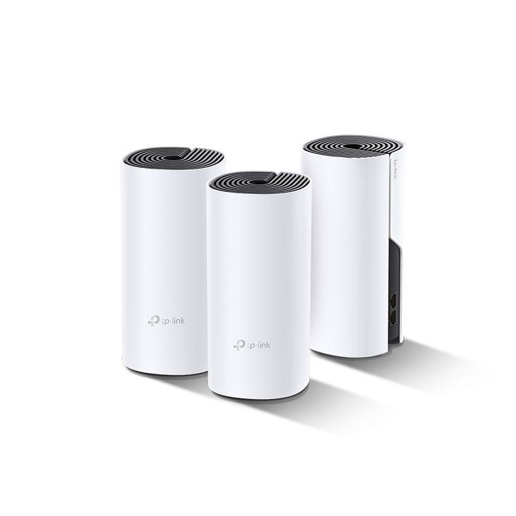 TP-Link AC1200+AV1000 Whole Home Hybrid Mesh Wi-Fi System DECO P9(3-PACK)