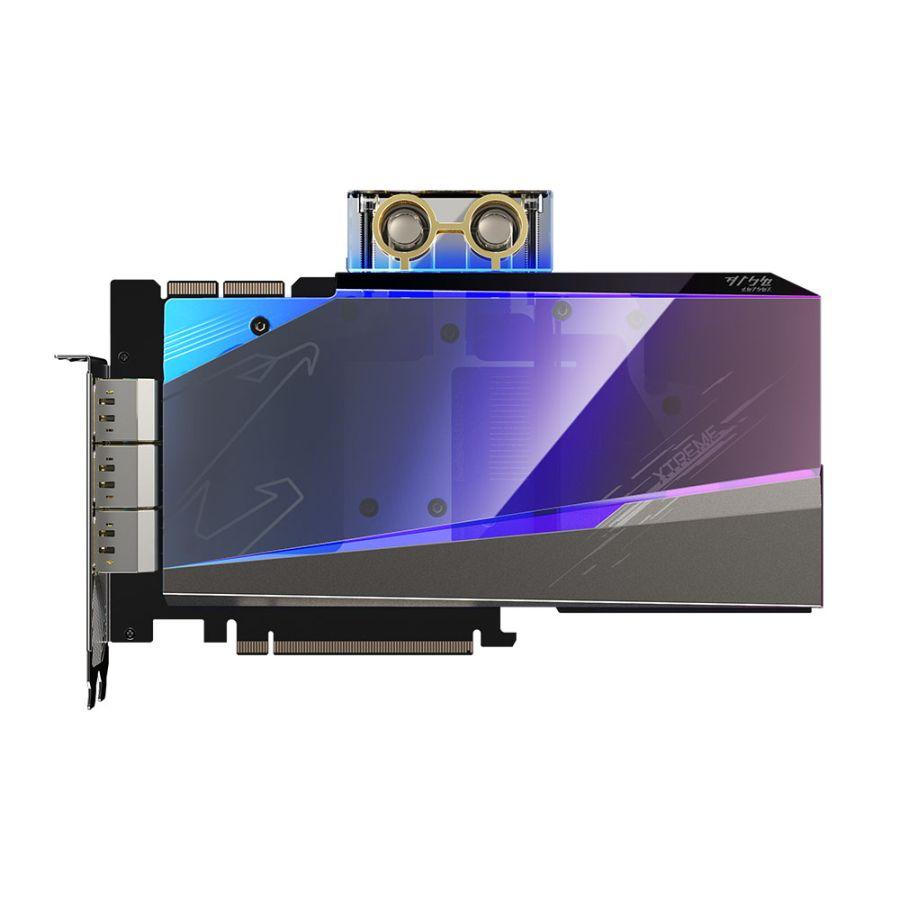 Gigabyte AORUS GeForce RTX 3090 XTREME WATERFORCE WB 24GB GDDR6X Video Card GV-N3090AORUSX WB-24GD