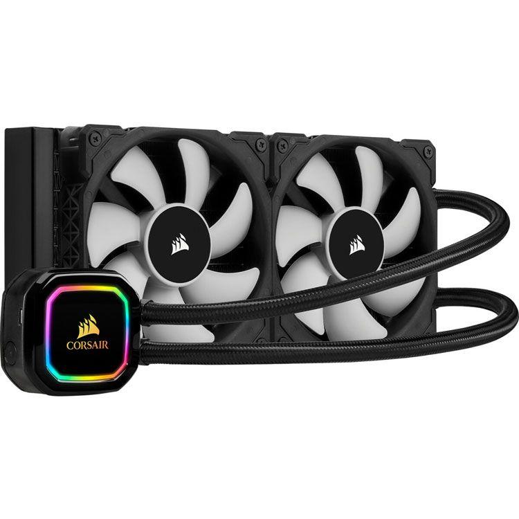 Corsair iCUE H115i RGB PRO XT 280mm Intel/AMD Liquid CPU Cooler CW-9060044-WW