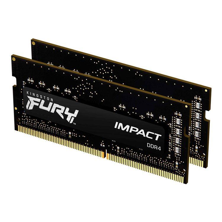 Kingston Fury Impact 32GB (16GB x2) DDR4 2666Mhz Memory KF426S15IB1K2/32