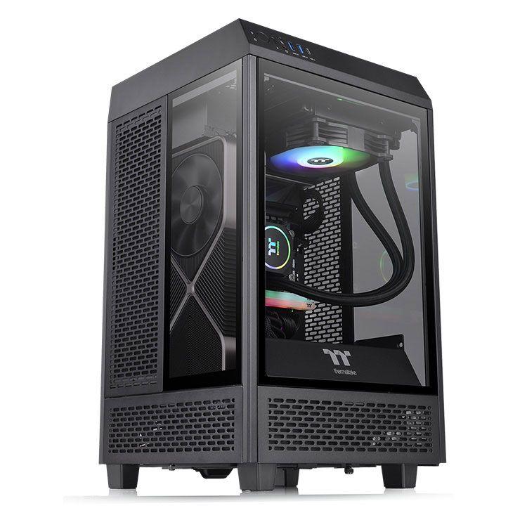 Thermaltake The Tower 100 Mini ITX Case CA-1R3-00S1WN-00