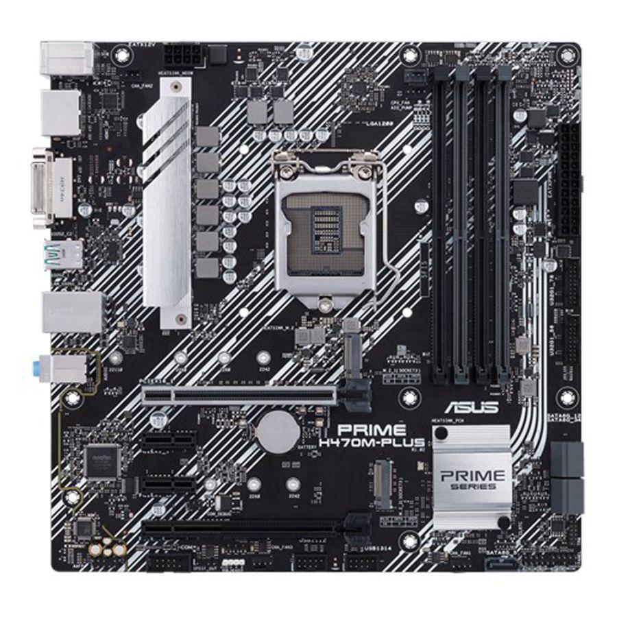Asus PRIME H470M-PLUS/CSM LGA1200 DDR4 Motherboard MATX
