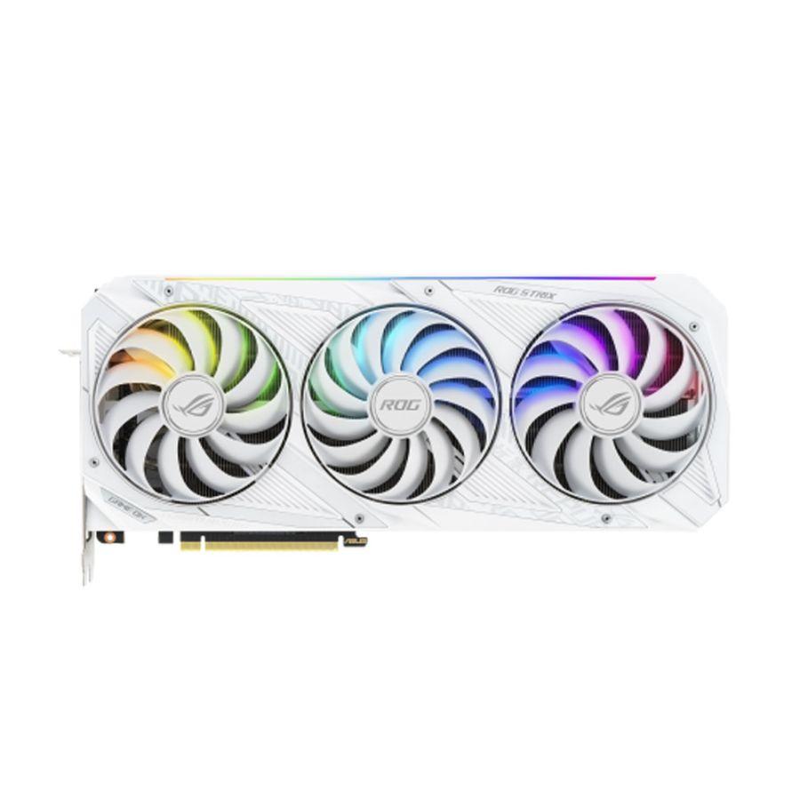 Asus STRIX GeForce RTX 3080 OC 10GB GGDR6X Video Card ROG-STRIX-RTX3080-O10G-WHITE