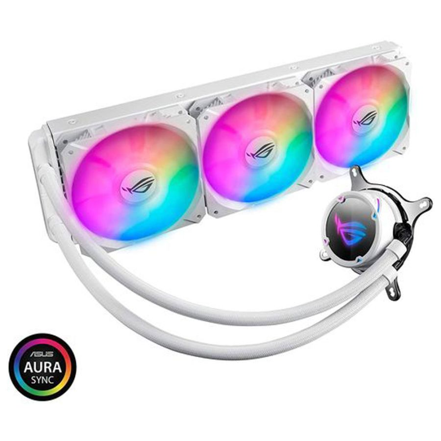 Asus ROG STRIX LC 360 RGB WHITE EDITION Intel/AMD Liquid CPU Cooler