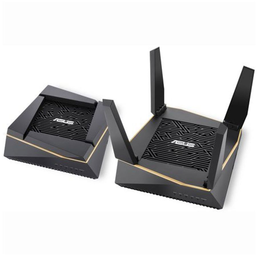 Asus RT-AX92U 2 PACK AiMesh AX6100 Wifi Whole Home System Wireless Router