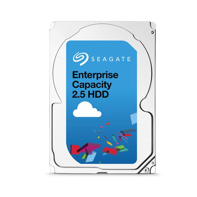 "Seagate Enterprise Capacity 1TB SAS 12Gb/s 2.5"" HDD ST1000NX0453"