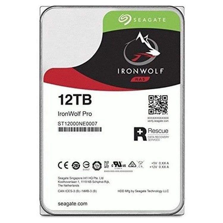 "Seagate IronWolf Pro 12TB 3.5"" SATA 6.0Gb/s HDD ST12000NE0008"