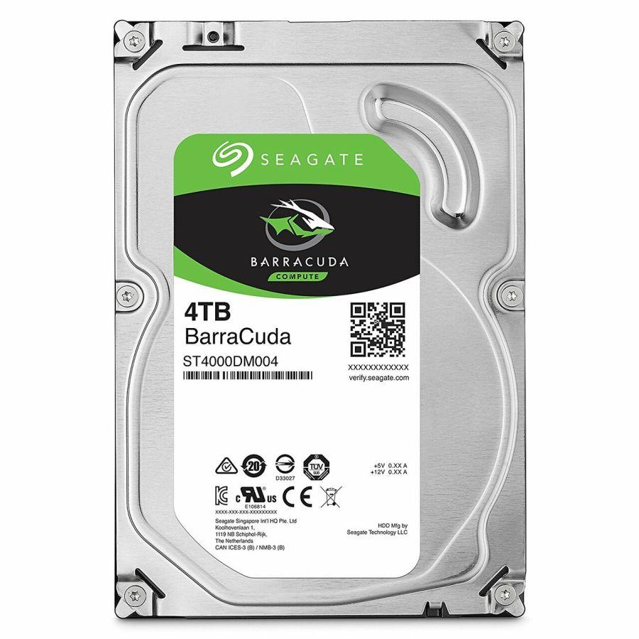 "Seagate BarraCuda 4TB 3.5"" SATA 6.0Gb/s HDD ST4000DM004"