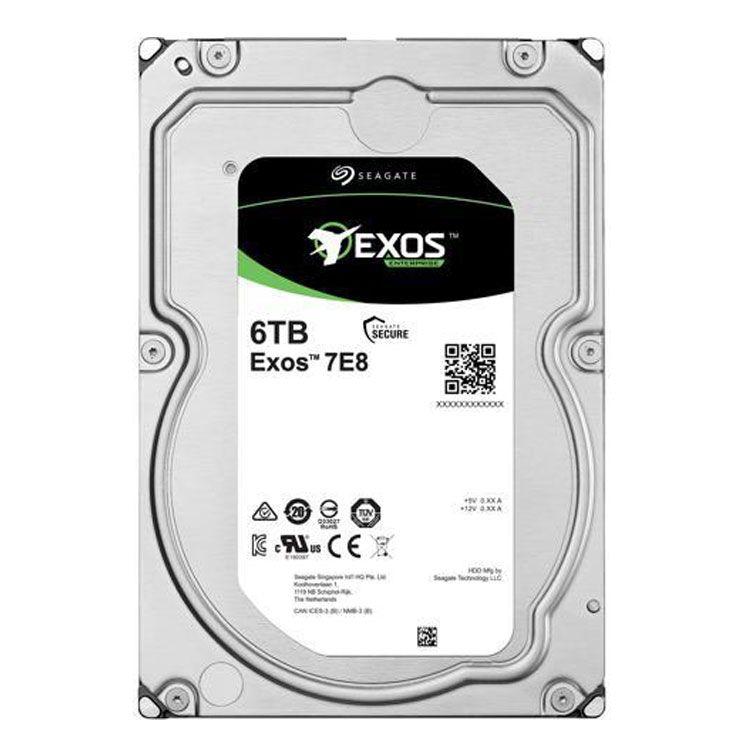 """Seagate EXOS 7E8 6TB 3.5"""" SATA HDD ST6000NM0115"""