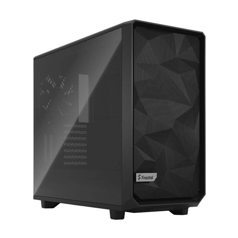 Fractal Design Meshify 2 Light Tempered Glass Gray Mid Tower Case FD-C-MES2A-04
