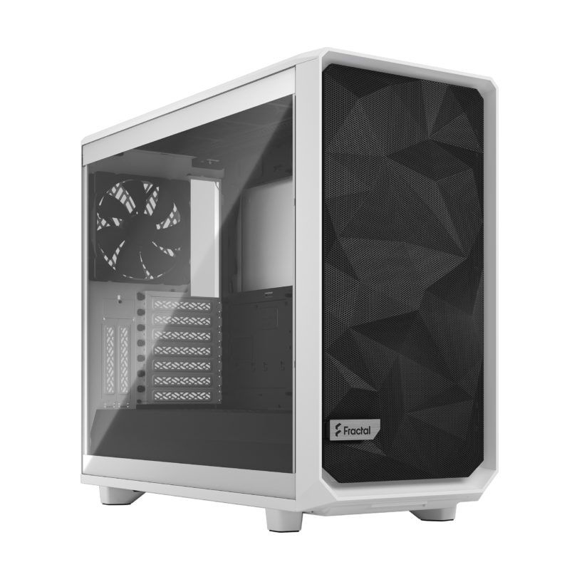 Fractal Design Meshify 2 Clear Tempered Glass White Mid Tower Case FD-C-MES2A-05
