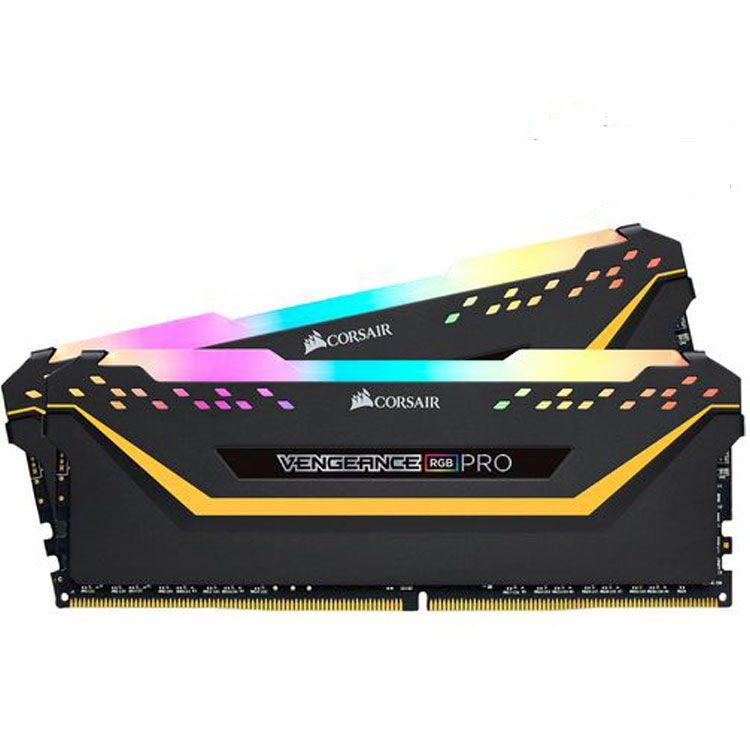 Corsair TUF Vengeance RGB Pro 32GB (2 x 16GB) DDR4 3200MHz Memory CMW32GX4M2E3200C16-TUF