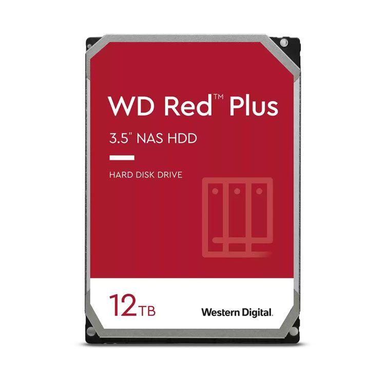 """Western Digital Red Plus 12TB 3.5"""" SATA 6.0Gb/s HDD WD120EFBX"""