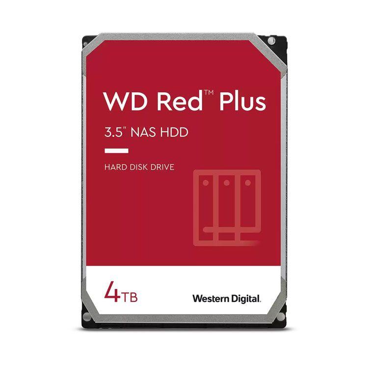 """Western Digital Red Plus 4TB 3.5"""" SATA 6.0Gb/s HDD WD40EFZX"""