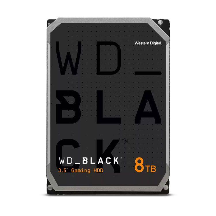 """Western Digital Black 8TB 3.5"""" SATA 6.0Gb/s HDD WD8001FZBX"""