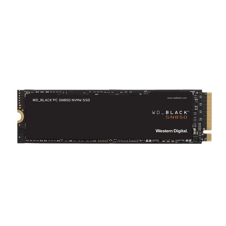 Western Digital Black SN850 1TB M2 2280 NVMe SSD WDS100T1X0E