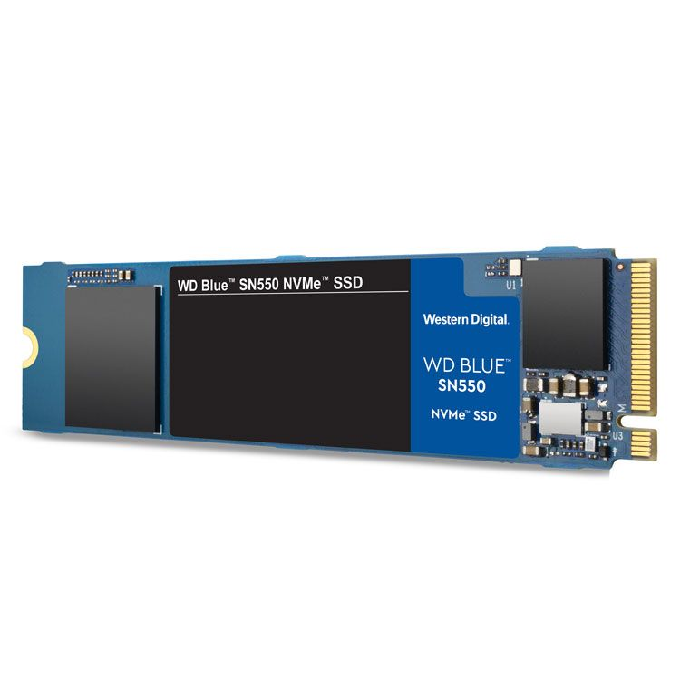 Western Digital Blue SN550 250GB M2 2280 NVMe SSD WDS250G2B0C