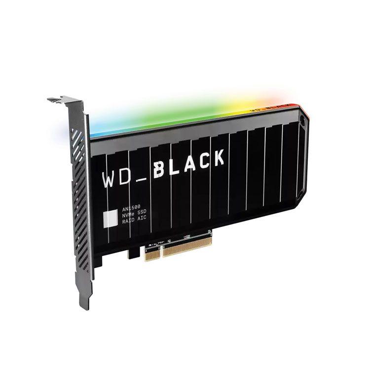 Western Digital Black AN1500 4TB PCI-E NVME SSD WDS400T1X0L